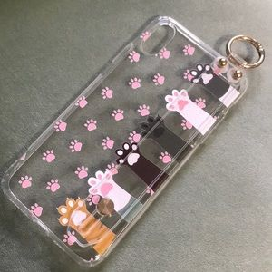 Cat Paw Silicone IPhone Case XS Max